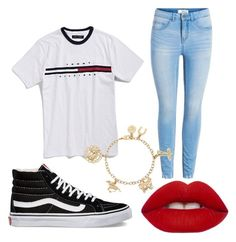 """""""Untitled #40"""" by onlyyc on Polyvore featuring Vans and Lime Crime"""