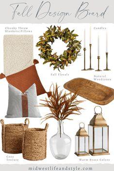 Fall Apartment Decor, Fall Home Decor, Autumn Home, Comfy Cozy Home, Warm And Cozy, Fall Living Room, Seasonal Decor, Holiday Decor, Décor Boho