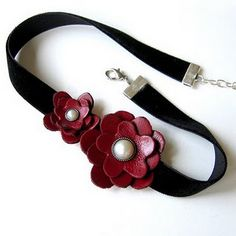 Recycled Leather Jewelry