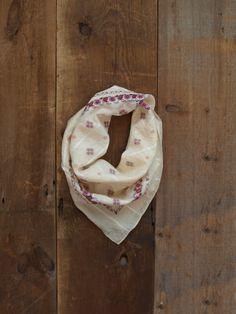 SALE/ Vintage Scarf Cotton Scarf Boho Scarf by littleedenvintage, $15.00