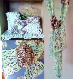 Forest Fern -  lace scarf £40.00