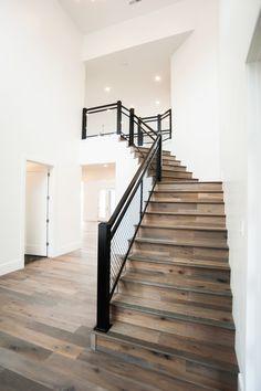 Murdock Builders is one of Utah's Premier Home Builders Custom Home Builders, Custom Homes, Mountain Modern, Utah, Stairs, Wood, Home Decor, Stairway, Decoration Home