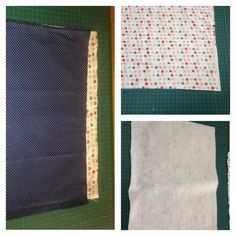 Cortar no tecido 2x a medida de 29x40cm, e 1x na manta deixando uma margem de 0,5 cm.