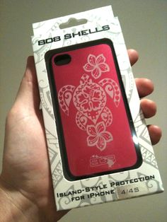 pic of a fully packaged HonuShell for iPhone 4/4S $30