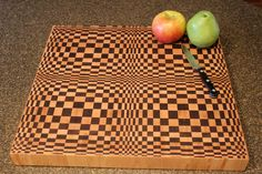 3D End Grain Cutting Board | JR Woodworks and Design