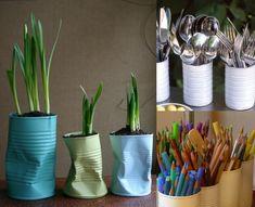 21 Simple Tin-Can Craft Ideas