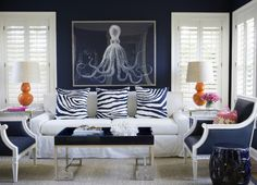 Amazing Navy! - Design Chic- ADDING NAVY TO YOUR HOME