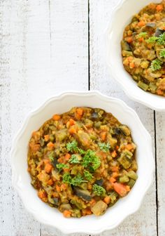 Moroccan Vegetable and Lentil Stew