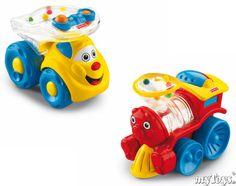 Fisher-Price - Lustige Fahrzeuge, sortiert