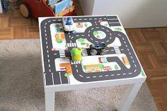Limmaland Spieltisch Autos Jungenzimmer