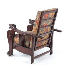 119 best antique morris chairs images morris chair antique rh pinterest com