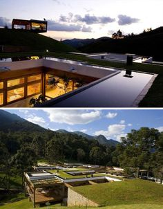 Intricate modular earthen-roof home, simply amazing