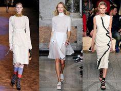GessoDa sinistra: le collezioni primavera-estate 2015 di Prada,... . Foto-gallery e immagini