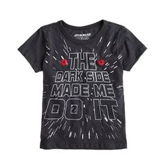 J.Crew - Boys' glow-in-the-dark Star Wars™ tee #JCREW - Exta 30% - 50% off sale items