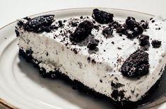 No Bake Oreo Cheesecake Dessert - No Bake Oreo Cheesecake, Cheesecake Desserts, No Bake Desserts, Just Desserts, Oreo Biscuit Cake, Oreo Cake, Oreo Biscuits, Bolo Cookies And Cream, Cake Preparation
