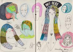 drawings girls