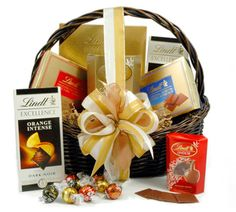 7d098f77d204df The Lindt Chocolate Git Basket make the perfect gift for a Birthday or  Christmas. Lindt