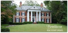 Luxury home sales in Brookhaven Atlanta, GA 30319.  See the top 25 most expensive homes sold in Brookhaven.