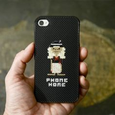 This adorable cross-stitched iPhone case just in time for Halloween.