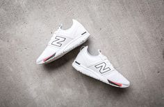 http://SneakersCartel.com Close Out The Summer With This New Balance 247 In White And Black #sneakers #shoes #kicks #jordan #lebron #nba #nike #adidas #reebok #airjordan #sneakerhead #fashion #sneakerscartel