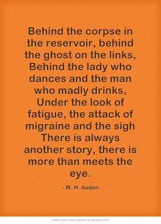 W.H. Auden http://www.amazon.com/The-Reverse-Commute-ebook/dp/B009V544VQ/ref=tmm_kin_title_0