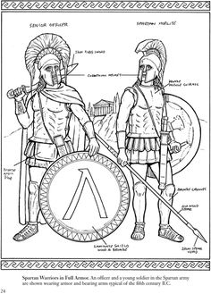 Warriors Of The Ancient World Dover Publications
