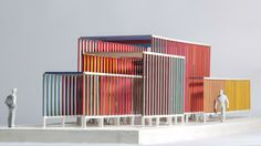 Overlay - Jacob Esocoff Brick Architecture, Chinese Architecture, Classical Architecture, Futuristic Architecture, School Architecture, Sustainable Architecture, Amazing Architecture, Interior Architecture, Architecture Models