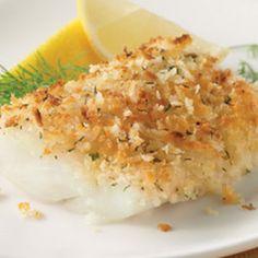 Parmesan Herb Encrusted Cod