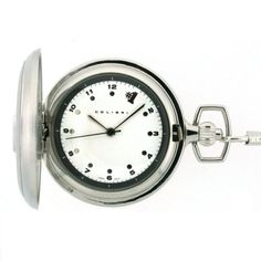 Colibri Pocket Watch #1 Stainless Steel with Chain PWQ097200C $16.95