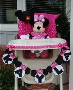 Minnie Mouse High Chair Idea