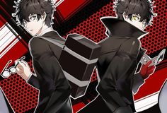 5, p5 joker, and background image