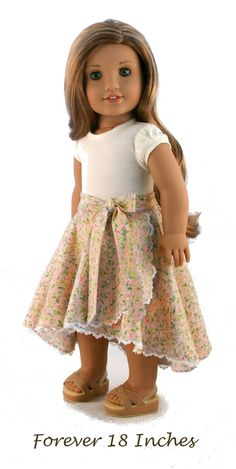 18 Doll Clothes fits American Girl Dolls by – Increase Your Breast Size By 2 Cup Sewing Doll Clothes, Sewing Dolls, Girl Doll Clothes, Doll Clothes Patterns, Girl Dolls, Doll Patterns, American Girl Outfits, American Doll Clothes, American Dolls