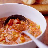 Meatball Soup (CrockPot)