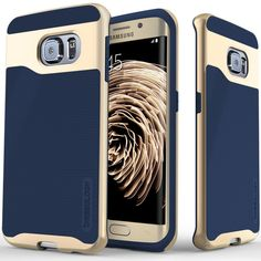 Wavelength Series [Navy Blue] for Samsung Galaxy S6 Edge
