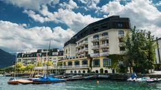 Das Grand Hotel Zell am See Hotel Zell Am See, Hotels, Grand Hotel, Austria, Mansions, House Styles, Kaprun, Road Trip Destinations, Island
