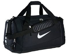 Nike Hoops Elite Max Air (Large) Basketball Duffel Bag Black NEW – Men's style, accessories, mens fashion trends 2020 Nike Sports Bag, Nike Gym Bag, Nike Bags, Nike Duffle Bag, Duffel Bag, Mens Gym Bag, Gym Men, Gym Bags For Men, Versace Handbags