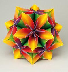 Comment faire des fleurs en papier – origami kusadama | Hibiscus Events