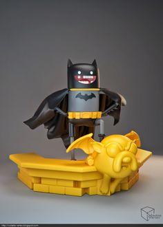 Toyart de Hora de Aventura com tema BATMAN! | | Garotas Geeks