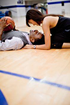 basketball engagement (Basketball Couples)