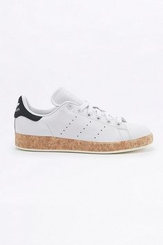 adidas Originals Stan Smith Cork Sole White Trainers