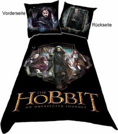 Belltex - Le Hobbit parure de lit Characters 135 x 200 cm…