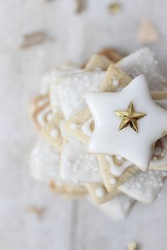 ✯ Wish Upon the Stars ✯  star cookie tree
