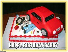 Auto cake   (Barry)