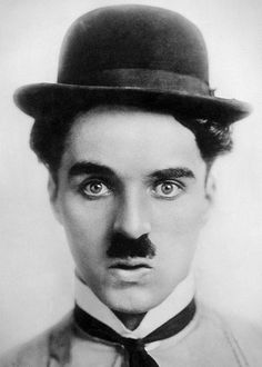 """Charlie Chaplin became a worldwide icon through his screen persona """"the Tramp"""" and is considered one of the most important figures of the film industry. Charlie Chaplin, Classic Hollywood, Old Hollywood, Famous Mustaches, Ex Amor, Charles Spencer Chaplin, Moustaches, Easy Listening, Silent Film"""