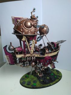 Kharadron overlords Arkanot ironclad c&c welcome. - Album on Imgur