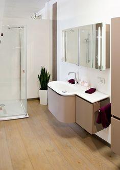 Fugenlose Wandgestaltung im Badezimmer in Remshalden