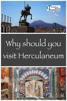 Pompeii is more popular than Herculaneum. During my visit to Naples, I happen to visit both of these places and that lead to me asking this question- Pompeii or Herculaneum? Backpacking Europe, Europe Destinations, Pompeii, Travel Advice, Travel Guides, Travel Stuff, Italy Travel Tips, Travel Europe, Europe Train