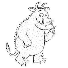 The Gruffalo Coloring Pages - Coole Kurzhaarfrisuren