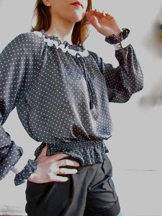 Of Dreams and Seams: Free Blouse Pattern and How-To!