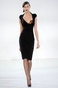 Little Black Dress by Antonio Berardi